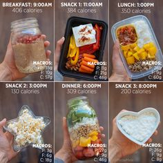 Reminder: not all calories are created equal ? While you may need a calorie deficit or surplus to hit your goals paying attention to the types of foods you eat and the types of foods that work with your body is just as important ? Do I strict calorie co Easy Meal Prep, Healthy Meal Prep, Healthy Snacks, Healthy Eating, Healthy Recipes, Snacks Recipes, Healthy Breakfasts, Healthy Sweets, Macro Meal Plan