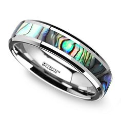 Mens tungsten wedding bands are a great alternative to traditional white gold or platinum bands. Tungsten is a natural silver-grey, similar to other white metals, but it is a much more durable ring option—and comes at a fraction of the cost! Wedding Rings Online, Wedding Rings For Women, Diamond Wedding Rings, Wedding Men, Rings For Men, Tungsten Mens Rings, Tungsten Wedding Bands, Ring Size Guide, Stainless Steel Rings