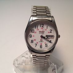Vintage Seiko Mens Railroad Approved Steel Quartz Watch Hours Clock~New Battery #Seiko #LuxuryDressStyles