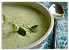 Helyn's Healthy Kitchen: Vegan Cream of Broccoli Soup