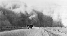 A black blizzard over Prowers Co., Colorado, 1937. (Western History Collection, University of Oklahoma)
