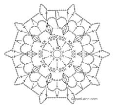 Oval, square, rectangle, circle and more. Crochet for beginners. - a post by Marina (Marina) in the Crochet community in the Crochet category for beginners Crochet Stone, Crochet Blocks, Crochet Squares, Diy Crochet, Crochet Doilies, Crochet Flowers, Crochet Snowflake Pattern, Crochet Motif Patterns, Crochet Motif
