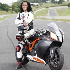 My new girl crush: Janie Omorogbe. Former ambulance driver, model, actress, TV host. Currently motorcycle enthusiast (on and off track) and journalist. This lady is badass.