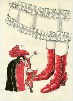 Benjamin Lacombe - Alice au pays des merveilles, Illustratio