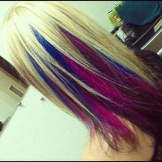 Would do a darker color on top, but pretty!