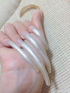 Sexy Nails, Toe Nails, Long Natural Nails, Curved Nails, Long Fingernails, Pixie, Claws, Mood, Collection