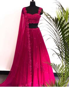 Buy beautiful Designer fully custom made bridal lehenga choli and party wear lehenga choli on Beautiful Latest Designs available in all comfortable price range.Buy Designer Collection Online : Call/ WhatsApp us on : Indian Gowns Dresses, Indian Fashion Dresses, Dress Indian Style, Indian Designer Outfits, Designer Dresses, Designer Sarees, Prom Dresses, Formal Dresses, Indian Bridal Outfits