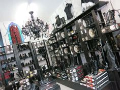 Young Men's Clothing Stores rocker | gothic stores, punk fashion, berlin punk clothing, hello kitty store ...