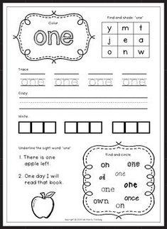 Free CVC Worksheets SAMPLER | Teaching First Grade | Pinterest