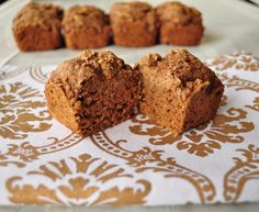 This sweet and spicy apple bread is made with whole grains.