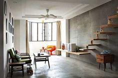piso de cemento alisado,piso de cemento
