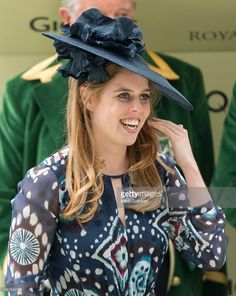 Princess Beatrice on day 5 of Royal Ascot at Ascot Racecourse on June 18, 2016 in Ascot, England.  (Photo by Mark Cuthbert/UK Press via Getty Images)