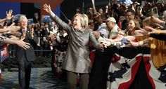 Clinton has another big night and is poised to become first female major party presidential nominee Donald Trump, Hillary Clinton 2016, Big Night, Barack Obama, Victorious, Presidents, Female, Concert, Obama Diary