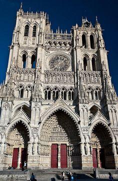 Catedral de Amiens France. Arquitectura gotica
