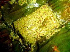 Bhetki Mach Paturi or Fish wrapped in Banana Leaf