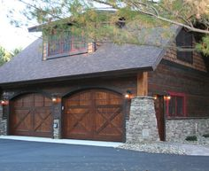 Magnificent Detached Garage Plans technique Minneapolis Rustic Garage And Shed Inspiration with attic storage bonus room cabin carriage house detached garage fieldstone garage hand split shakes