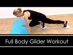 FULL BODY WORKOUT with GLIDERS (or paper plates) - YouTube