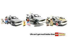 Official Back to the Future Lego set.. ZOMG.