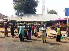 Roadside Market   Kaduna State Nigeria   #JujuFilms #Nigeria #StreetMarket #Kaduna #StreetHawkers #Africa