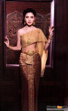 Thai traditional dress …