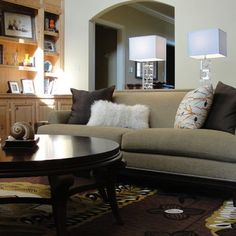 Family Room Tan Couch Design Pictures Remodel Decor And Ideas Page 14