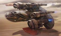 The Star Wars Underworld: Massive Amount of Episode VII Concept Art Leaked