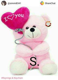 Disney Alphabet, S Alphabet, Alphabet Design, Alphabet Wallpaper, Bear Wallpaper, Love Wallpaper, Cute Teddy Bear Pics, Teddy Bear Pictures, Love Poetry Images