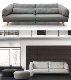 ORACLE #sofa #couch #confort #deco #grassoler #design > Totalmente desenfundable para el fácil enfundado y su lavado en la lavadora en las telas que lo permitan. ahora