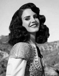 Lana Del Rey in the beautiful photography for the new issue of the magazine L'Officiel Paris in April 2013. Description from pinterest.com. I searched for this on bing.com/images