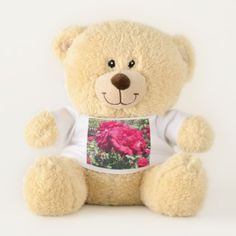 Be My Valentine Red Roses Teddy Bear - red gifts color style cyo diy personalize unique