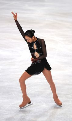 Mao Asada - Trophee Eric Bompard ISU Grand Prix of Figure Skating 2010 - Day One