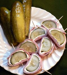 Doobers: Pickle, Ham, and Cream Cheese Appetizer - Bless This Mess