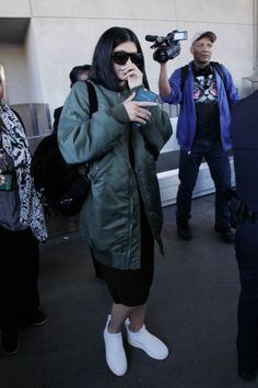 Kylie Jenner Daily, Kylie Jenner Outfits, Kendall And Kylie Jenner, Kylie Kardashian, Dash Dolls, My Girl, Winter Jackets, Style Inspiration, Jenners