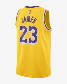e49d5ec724a6 Lebron James Icon Edition Swingman Jersey (Los Angeles Lakers) Men s Nike  NBA Connected Jersey