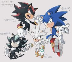 352 Best Sonic Shadow Silver Images Sonic Sonic And Shadow Shadow