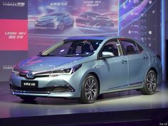 Toyota Corolla Hybrid front view from Shanghai