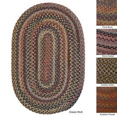@Overstock - 'Forester' Multicolored Braided Wool Rug (3' x 5') - Be traditional and fashionable at the same time with this eye-catching braided rug. This 100-percent wool braided rug makes a trendy statement with a contoured rectangle design and updated colors that will pop in any setting.  http://www.overstock.com/Home-Garden/Forester-Multicolored-Braided-Wool-Rug-3-x-5/8166724/product.html?CID=214117 $113.99