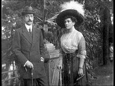 "Grand Duke Pavel Alexandrovich Romanov of Russia and his second wife Princess Olga Paley. ""AL"""