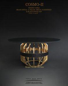 Cosmos -II- Dining Table- Designer Monzer Hammoud - Pont des Arts Studio -Paris