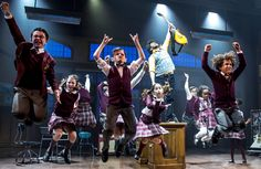 School of Rock musical transfers to West End from Broadway
