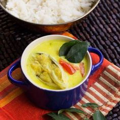 Fish Moilee is a simple