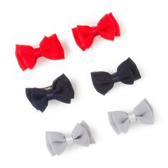 Keep your hair back in style during the hot July heat! #bows