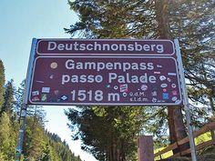 Pässe in Südtirol: Gampenpass