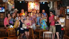 Don't miss our Key West Pub Crawl. The tour includes two and a half hours visiting historic bars, live music and, of course, plenty to drink. Key West Florida, Florida Keys, Two And A Half, Pub Crawl, World Famous, New Friends, Live Music, The Locals, Key West
