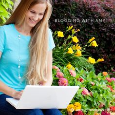 Blogging with Amy - How to set up your own website in 15 minutes.