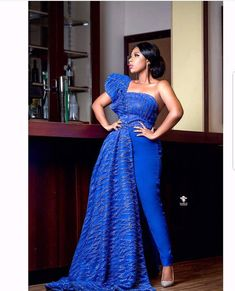 African Attire, African Dress, Beautiful Dresses, Nice Dresses, Short Dresses, Jumpsuit For Wedding Guest, Wedding Dress, Lace Jumpsuit, Bridal Jumpsuit