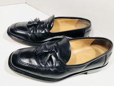 dee5aa0cfd3 Johnston Murphy Domani Men's Black Loafers Size Made in Italy EUC.  Margarita Dufour · Dress Shoes