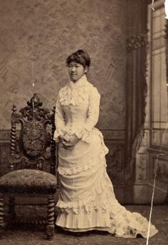 Shigeko Nagai, later—by her marriage to Rear Admiral Uriu—Baroness Uriu, was one of the first women piano teachers in Japan to teach Western classical music and a piano instructor to the first graduates of the Tokyo School of Music (1885).