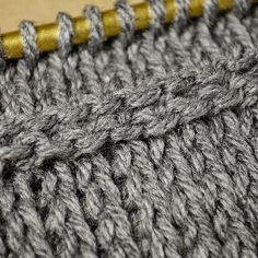 My Tunisian Crochet: Horizontal Chain Rib