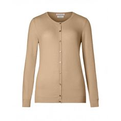 Cardigan made from cashmere blend, long sleeve, with ribbed trim at collar, cuffs and bottom.  United Color of Bentton